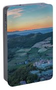 Sunset On Hills Portable Battery Charger