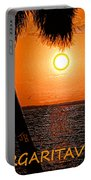 Sunset On Margaritaville Portable Battery Charger