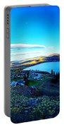 Sunset On Skaha Lake Portable Battery Charger