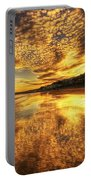 Sunset On The Beach Portable Battery Charger