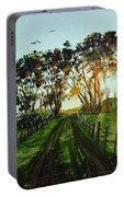 Sunset On The Farm Portable Battery Charger