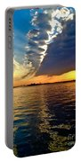 Sunset On The Hudson 03 New York Portable Battery Charger
