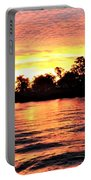 Sunset On The Murray River Portable Battery Charger