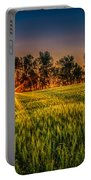 Sunset On The Prairie Portable Battery Charger