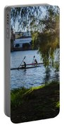 Sunset On The River - Seville  Portable Battery Charger