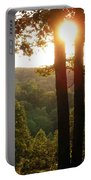 Sunset On The Trace Portable Battery Charger