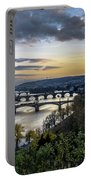 Sunset On The Vltava Portable Battery Charger