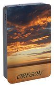 Sunset Oregon Portable Battery Charger