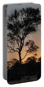 Sunset - Out In The Country Portable Battery Charger