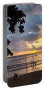 Sunset Over Ao Nang Beach Thailand Portable Battery Charger