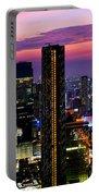Sunset Over Bangkok Portable Battery Charger