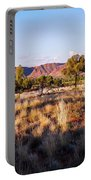 Sun Setting Over Kings Canyon - Northern Territory, Australia Portable Battery Charger