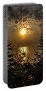 Sunrise Over Lake Huron Portable Battery Charger