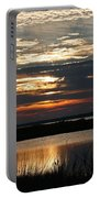 Sunset Over Navarre Portable Battery Charger