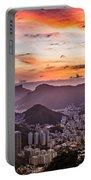 Sunset Over Rio De Janeiro  Portable Battery Charger