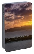 Sunset Over St. Thomas Portable Battery Charger