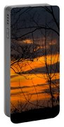 sunset over Suwanee 2010 Portable Battery Charger