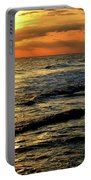 Sunset Over The Gulf Portable Battery Charger
