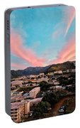 Sunset Over Uh Manoa Portable Battery Charger
