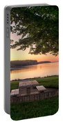 Sunset Picnic Portable Battery Charger