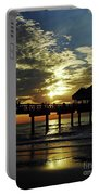 Sunset Pier Reflection Portable Battery Charger