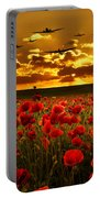 Sunset Poppies The Bbmf Portable Battery Charger