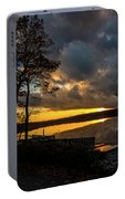 Sunset Reflection Portable Battery Charger