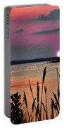 Sunset Scene Portable Battery Charger