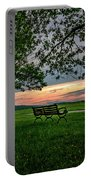 Sunset Seating Portrait Portable Battery Charger