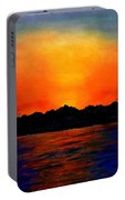 Sunset Sinai Portable Battery Charger