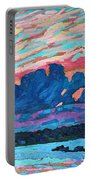 Sunset Snails Portable Battery Charger