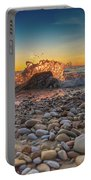 Sunset Splash By Sheri Harvey Shargraphics.com Portable Battery Charger