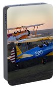 Sunset Stearmans Portable Battery Charger