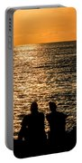 Sunset Together In Key West Portable Battery Charger