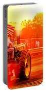 Sunset Tractor Pull Portable Battery Charger