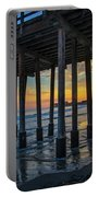 Sunset Under The Ventura Pier Portable Battery Charger