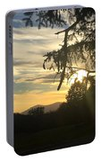 Sunset View From Olana  Portable Battery Charger