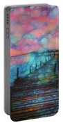 Sunset View Portable Battery Charger