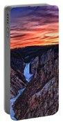 Sunset Waterfall Portable Battery Charger
