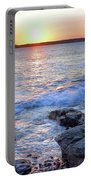 Sunset Waves Portable Battery Charger