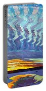 Sunset Waves Nite Portable Battery Charger