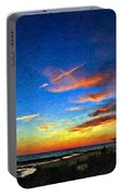 Sunset X Impasto Portable Battery Charger