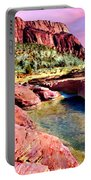 Sunset Zion National Park Portable Battery Charger