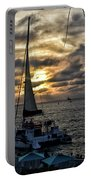 Sunsets And Sails Portable Battery Charger