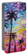 Sunsets In Florida Portable Battery Charger