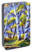Sunshine And Birches Portable Battery Charger