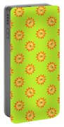 Sunshine Daisy Repeat Portable Battery Charger