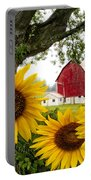 Sunshine In The Fog Portable Battery Charger