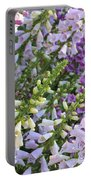Sunshine On Foxgloves Portable Battery Charger