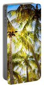 Sunshine Palms Portable Battery Charger